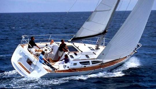 Luxury ''jeanneau Sun Odyssey 35'' Charter In Netherlands