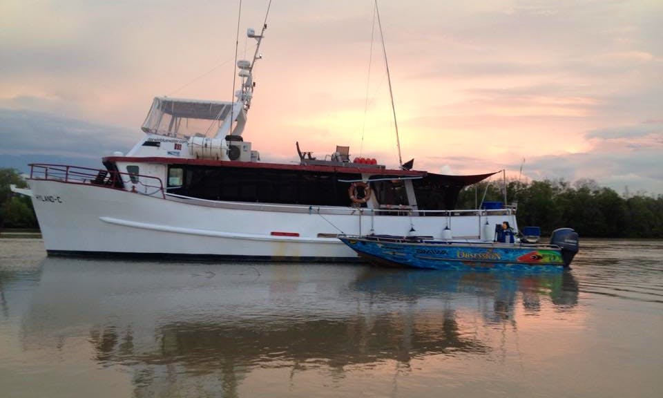 Bass Boat Fishing Charter in Malak, Australia