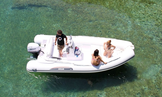 18' Selva Rigid Inflatable Boat In Bosa