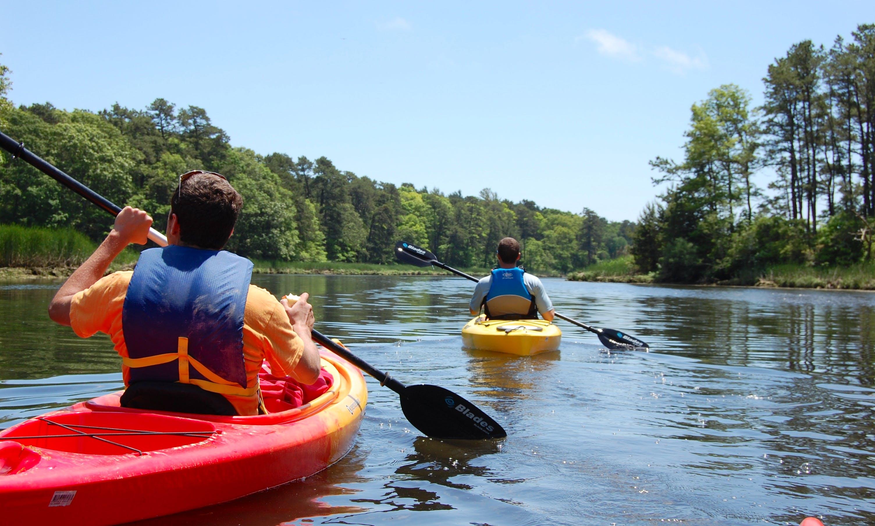 Single Kayak Rental In Sandwich