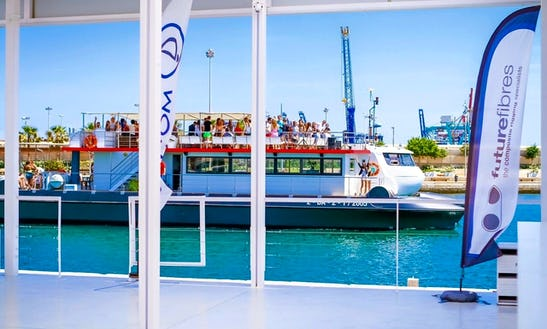 Party Boat Cruises For 50 People In Valencia, Spain