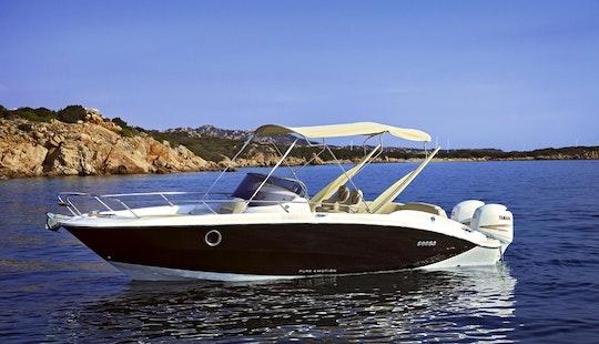Rent 27' Sessa Marine Key Largo Deck Boat In Dubai, United Arab Emirates