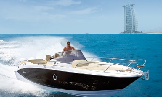 Rent 27' Sessa Marine Key Largo Deck Boat In Dubai, United Arab Emirates