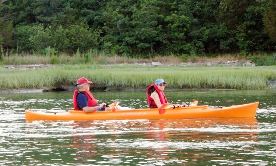 Nantasket Double Kayak Rental In Hull