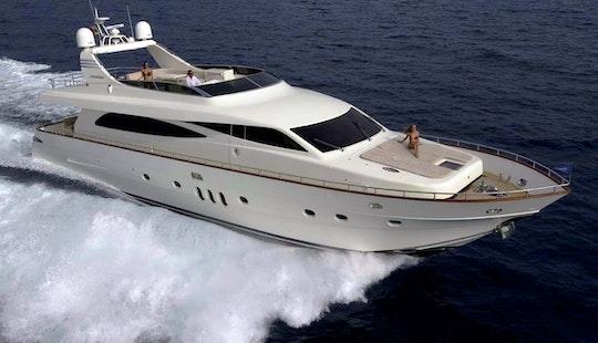 Charter 86'  Canados Dream On Power Mega Yacht In Dubai, United Arab Emirates