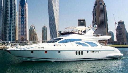 Charter 62' Azimut Yacht In Dubai, United Arab Emirates