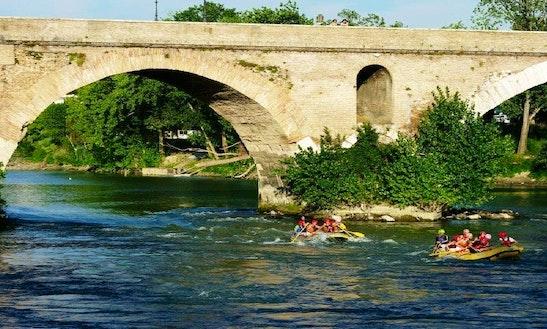 Rafting In Roma, Italy