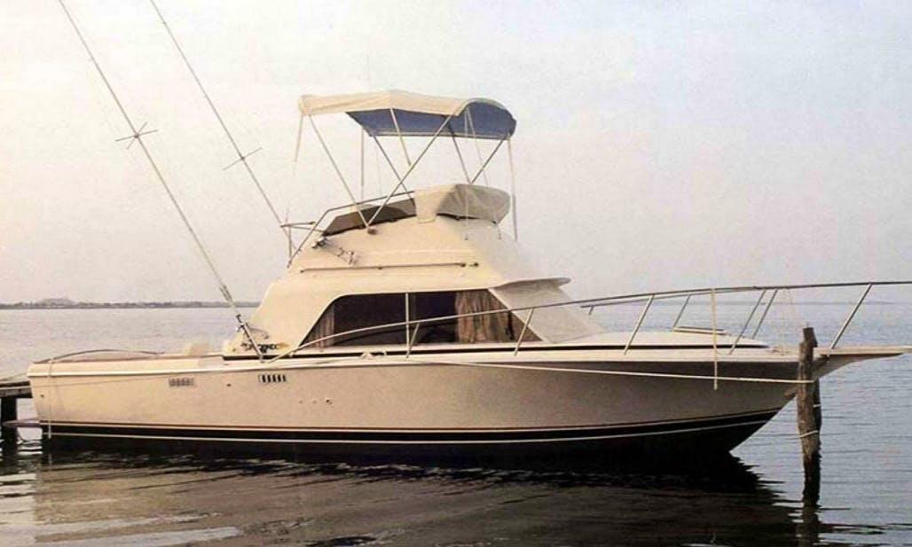 30ft Phoenix Sportfisher Yacht Fishing Charter With Captain Kevin In Manistee, Michigan