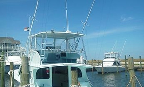 Charter On 50ft Hatteras Fishing Boat In Hatteras, North Carolina