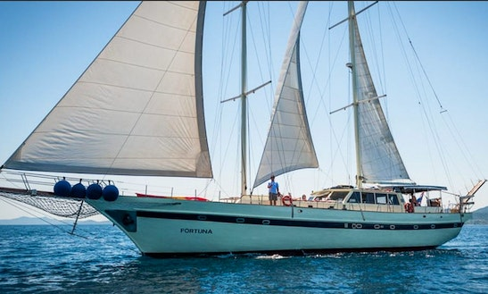 Luxury Schooner Weekly Charter In Split