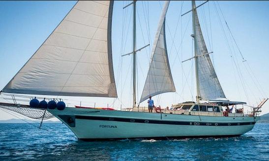 Luxury Schooner Weekly Charter In Split