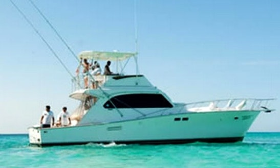 46' Custom Post Boat Cancun Fishing Charter