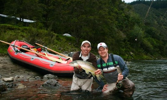 Guided Fly Fishing Trip In Taupo, Nz