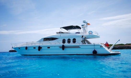 Luxury Princess 20m Motor Yacht Charter In Spain