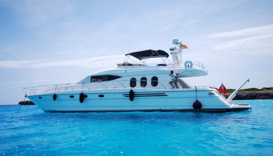 Luxury Princess 20m Motor Yacht Charter In Spain