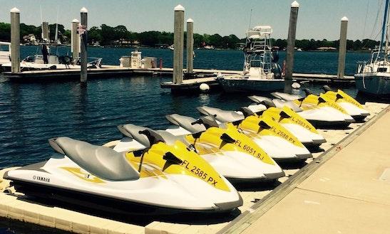 Rent Waverunners Jet Ski In Fort Walton Beach, Florida