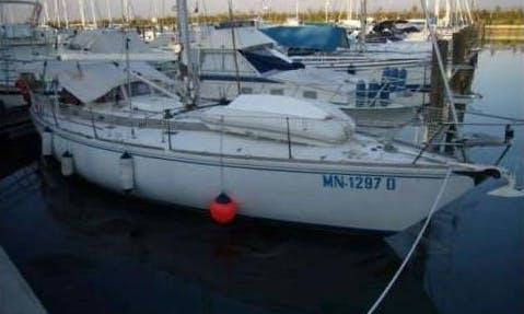 "Luxury ""Aton"" Cruising Monohull Charter in Italy"