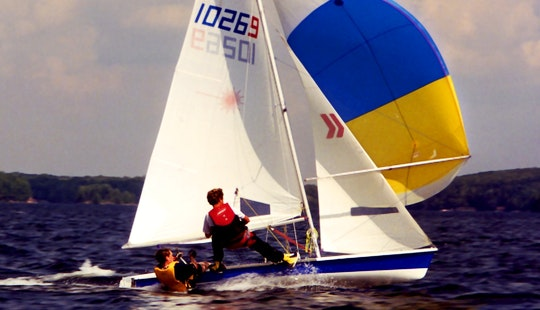Laser 16' Daysailer Charter In Falmouth, Uk