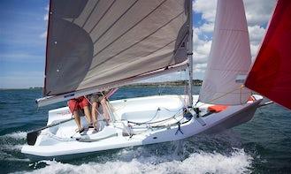 15ft Laser Bahia Daysailer Charter in Falmouth, UK