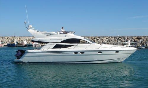 Luxury ''Fairline Phantom 46'' Motor Yacht Charter in Spain