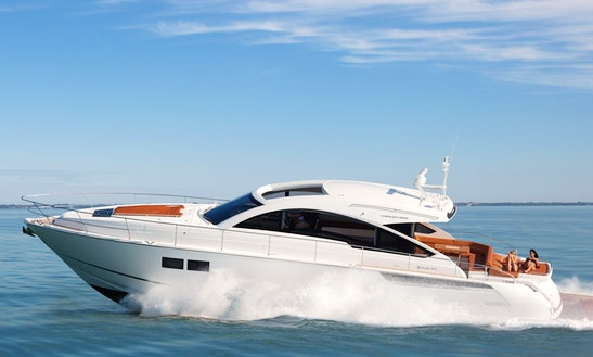 Luxurious Motor Yacht ''fairline Targa 62gt'' Charter In Spain