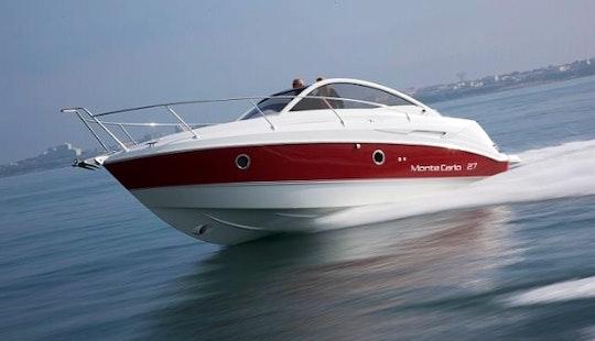 Luxury ''monte Carlo 27'' Motor Yacht Charter In Spain