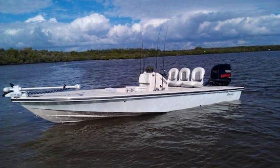 Fishing Charters On 21' Maverick Master Angler In Florida