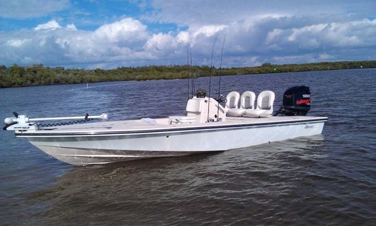 Down South Charters' 21' Maverick Master Angler In Florida