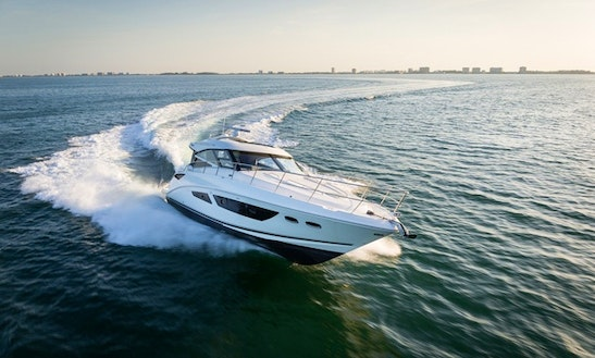 Luxury ''searay Sundancer 440'' Charter In Spain