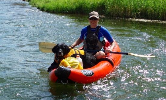 Inflatable Kayak Trip In Durango