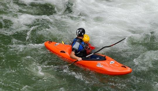 Kayaking In Rotorua