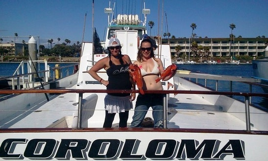 65' Open Boat Fishing Charter In Oxnard