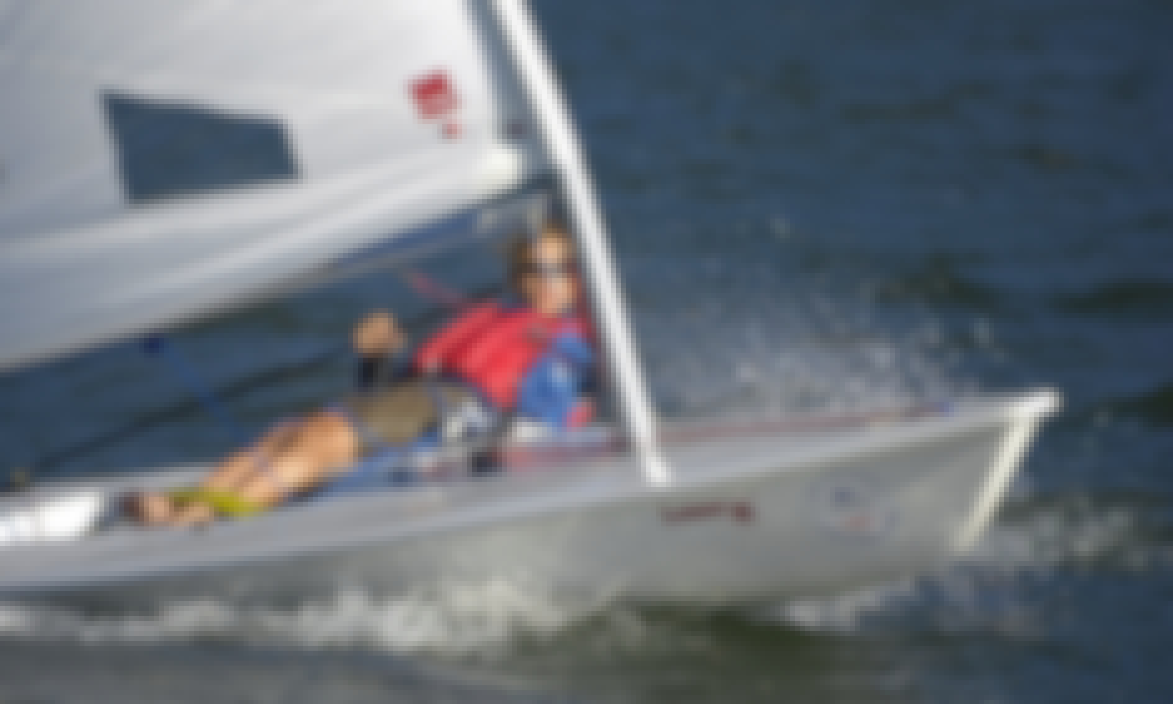 13ft Laser Single Handed Dinghy Charter in Falmouth, UK