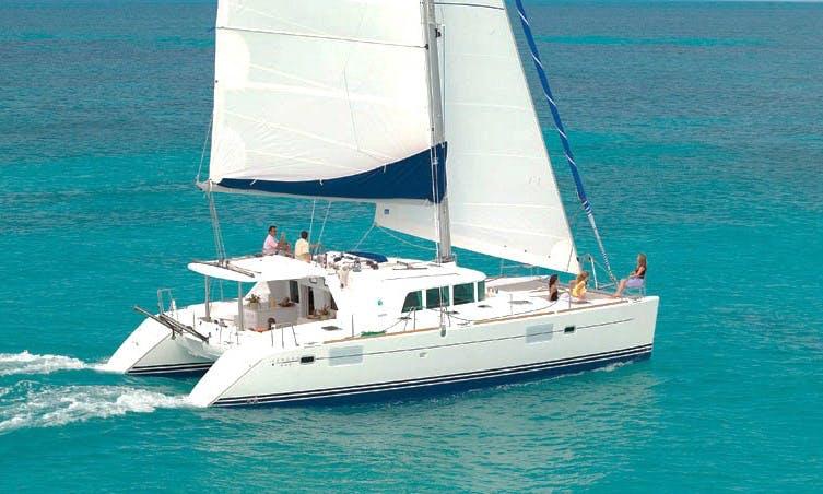 """Lagoon 440"" Luxury Cruising Catamaran Charter in Spain"