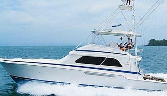 Luxury Bertram Fishing Charter In Costa Rica