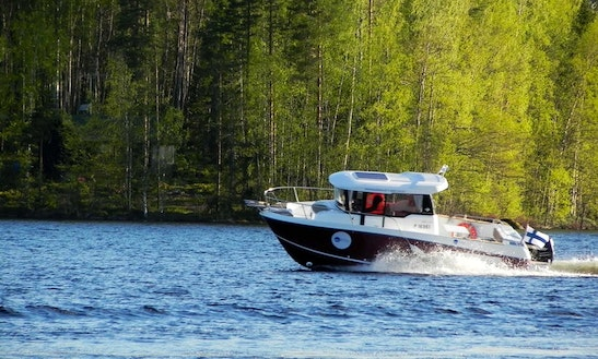 Deck Boat Rental In Kangasniemi