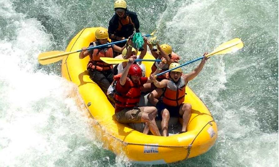 River Rafting Adventure in Atlantida, Honduras
