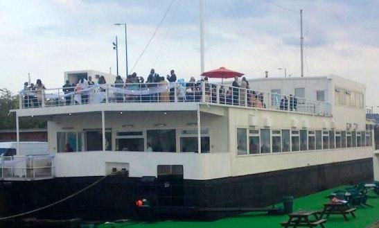 70ft Custom Vessel Houseboat In London, United Kingdom