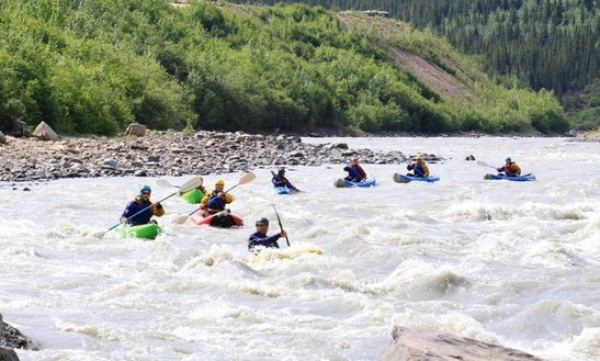Whitewater Kayak Adventure On Denali National Park And Reserve In Alaska