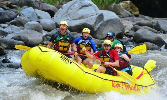 Whitewater River Rafting In Costa Rica
