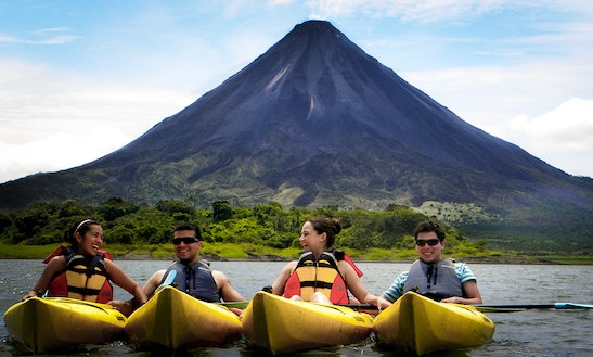 Lake Kayaking  On Lake Arenal, Costa Rica