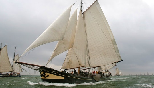 Charter A 124' Sailing Schooner In Harlingen
