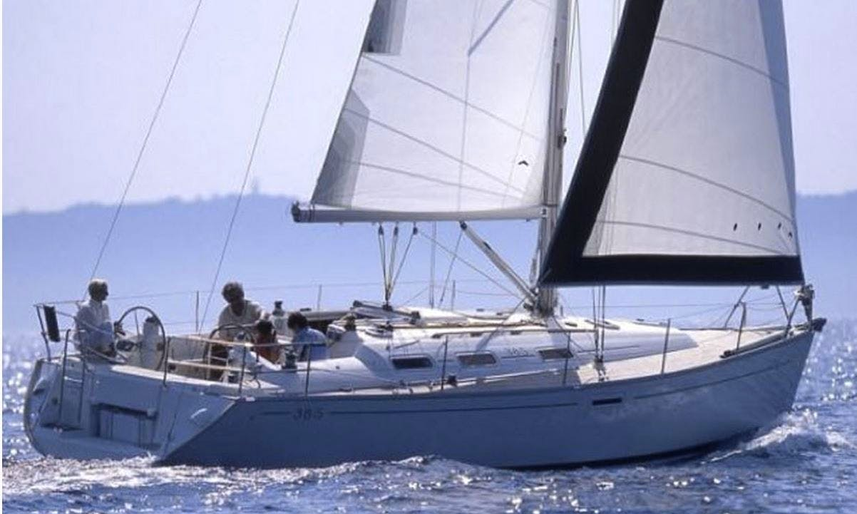 38' Dufour 385 Charter in Dénia