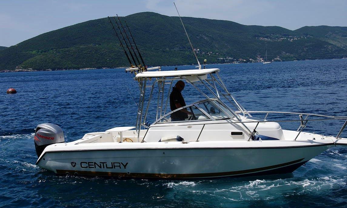 Private Boat Rental in Kotor Bay