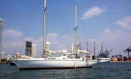 "Charter 53ft ""Spray"" Sloop In Portobelo, Panama"