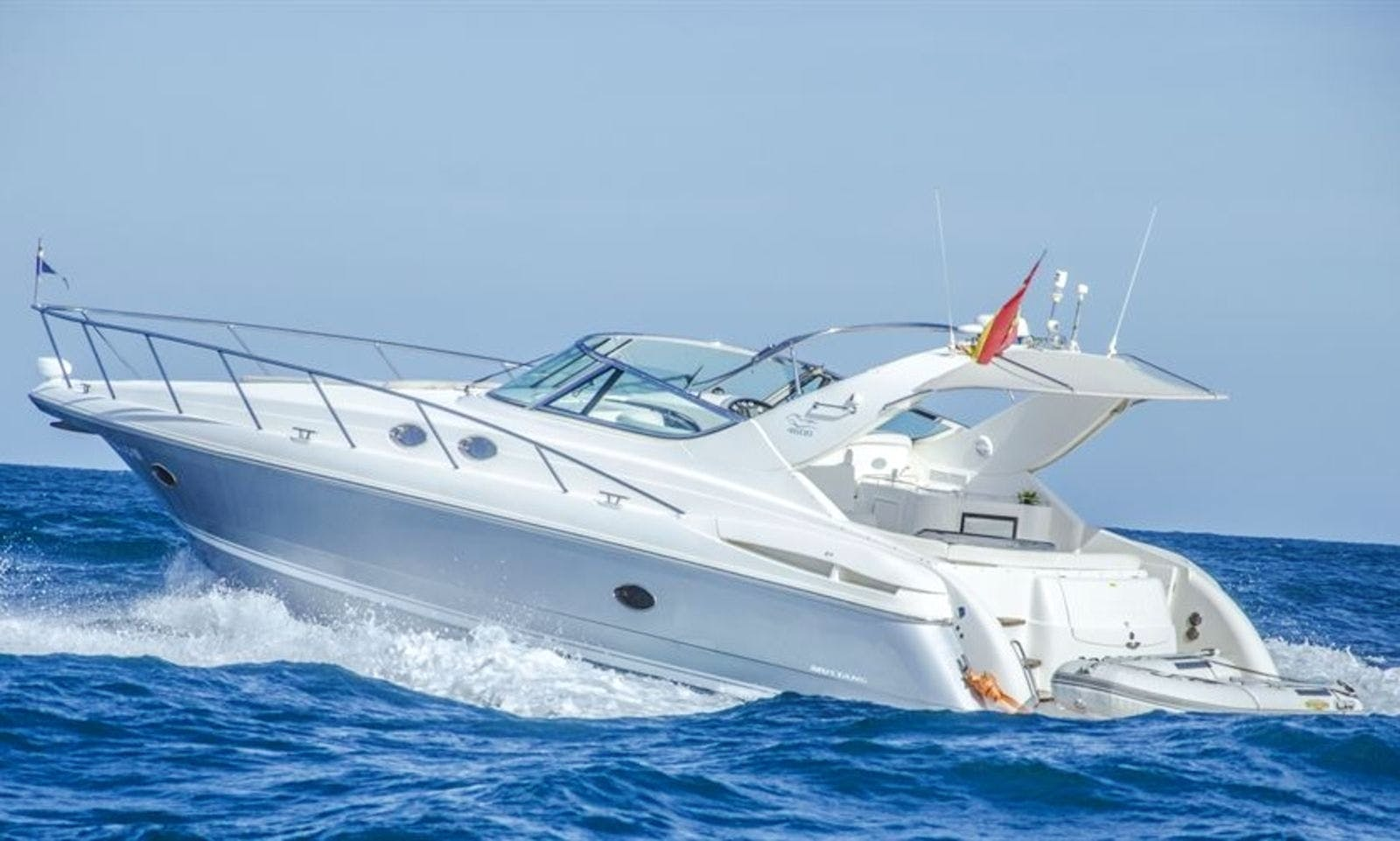 Luxurious Mustang 46 Motor Yacht Charter in Spain