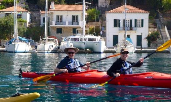 Kayak Day Trips In Argostoli