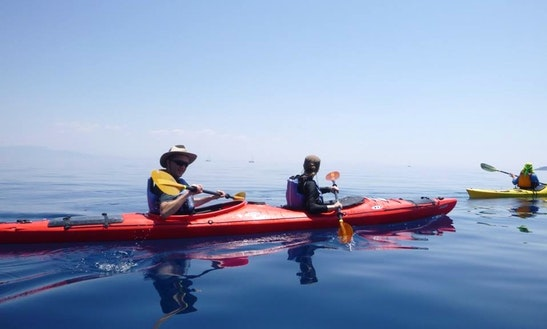 Kayak Day Trips In Argostoli