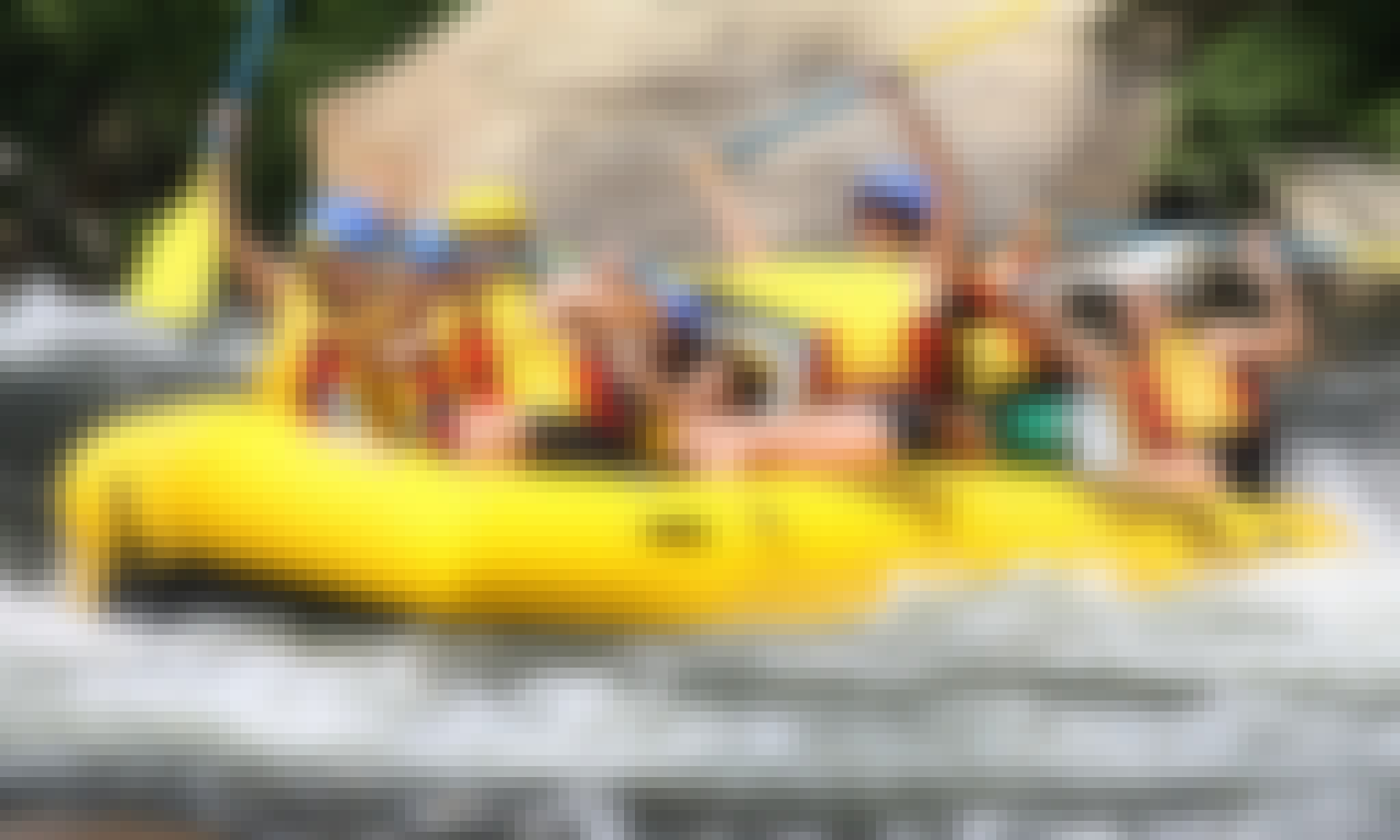 Lickety-Split Raft Trip By Kayak Rental in Kernville