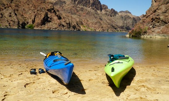 The Lover's Kayak Tour On Black Canyon & Lake Mead